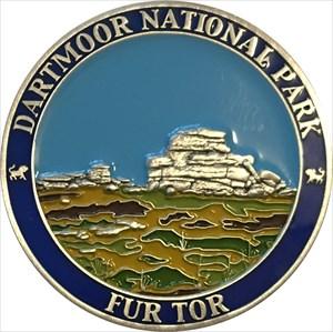 Dartmoor 2017 Race Coin