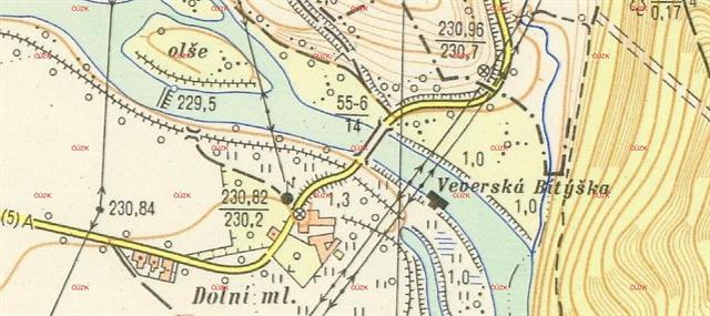 Mapa 1952