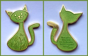 CacheCat Geocoin - Merry Cat