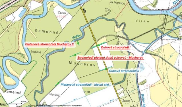 Mapa stromořadí