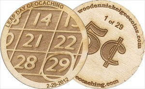 leap day geocoin