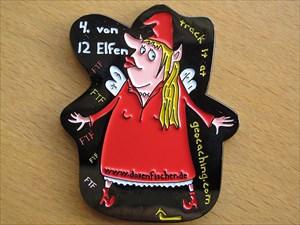 Lady First - 4. von 12 Elfen (Vorderseite)