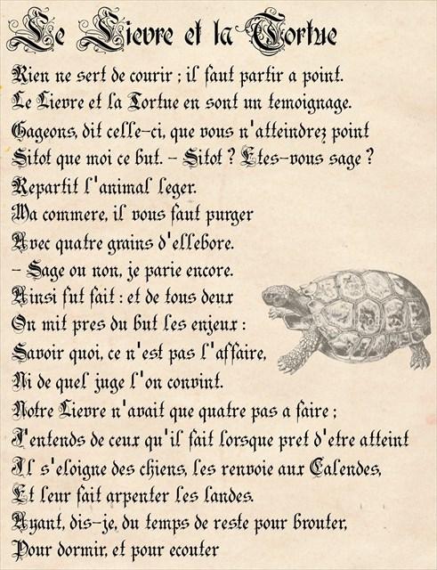 (TB3JB54) Travel Racer Antique - Le Lièvre # The Hare