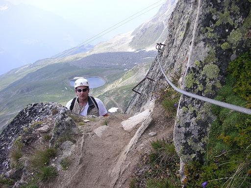 Klettersteig Eggishorn : Gc wfxv klettersteig via ferrata am eggishorn traditional