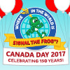 Where in the World is Signal? Canada Day 2017