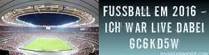 Fußball EM 2016 - Sei Live dabei am 05.01.2018