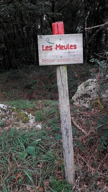Les Meules - Accès au site