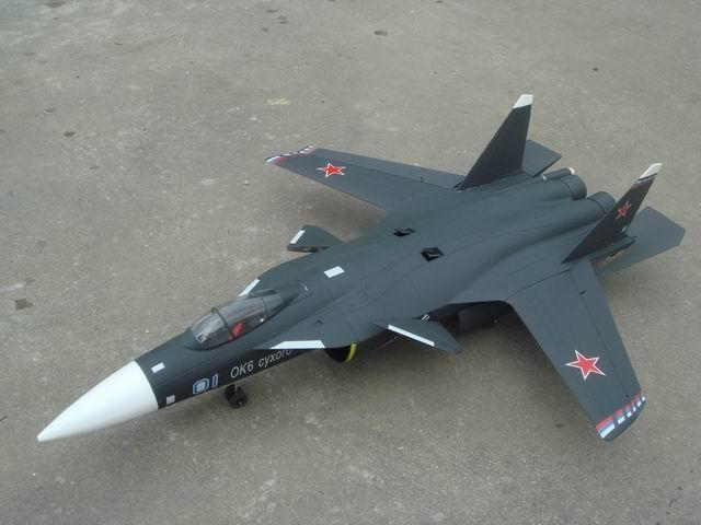 """Радиоуправляемый самолет Su-47 XL - Интернет-магазин  """"РадиоИгры.ру """""""