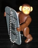 Monkey Sam ready to go