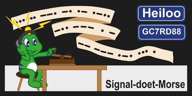 GC7RD88 Signal-doet-Morse