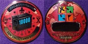 Geo-Achievement Finds 10,000