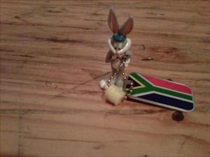 Mr Hop-a-lot - a cheerful, adventurous rabbit