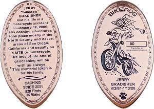 BikeDog Geocoin