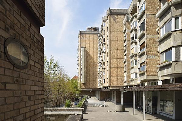 The Ferant Garden Residential Quarter, Edvard Ravnikar: 1975