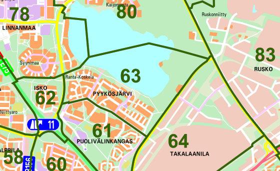 Gc66jxd Oulun Kaupunginosat 63 Pyykosjarvi Unknown Cache In