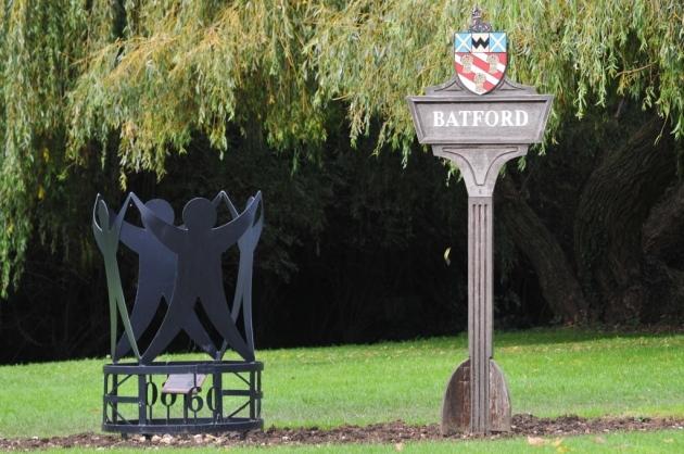 Batford Village Sign.