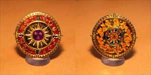 Zodiac Compass Geocoin