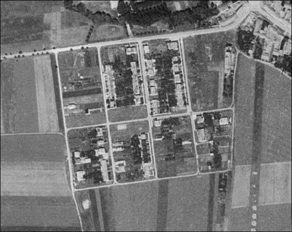 letecky snimek 1950