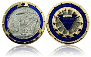 Bermuda Coin foggy silver