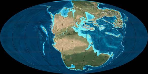 Weltkarte 220Mill