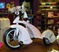 The tricycle in the gift shop