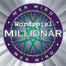 Wordspiel Millionär