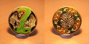 Celtic Dragon - Earth Geocoin