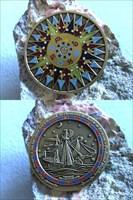 Compass Rose gold