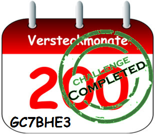 200 Versteckmonate - Challange Completed am 04.03.2018