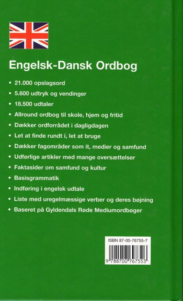 ordbog engelsk dansk bushel