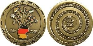 100000 Caches Germany Geocoin