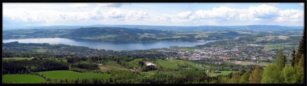 Panoramabilde fra Høsbjørkampen