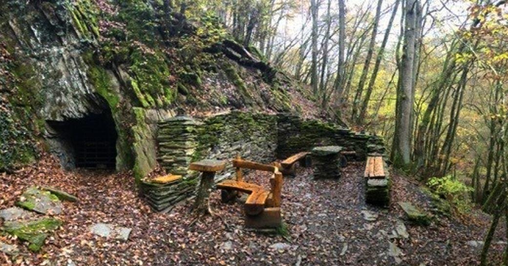 Platz für Wanderer am Baybachtal