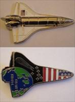 YJ&Ds Space Shuttle Geocoin