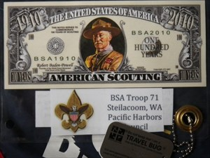 100 Years of Scouting Bill