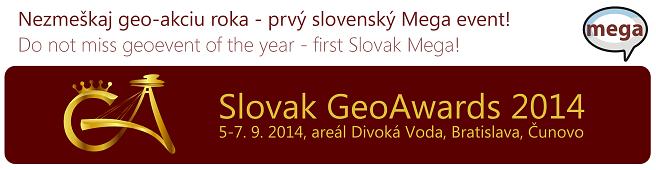 Slovak GeoAwards 2014