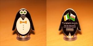 Eclectic Penguin Geocoin