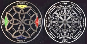 Power of the Celts Geocoin - uisce beatha