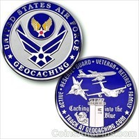 Uinted States Air Force Geocoin