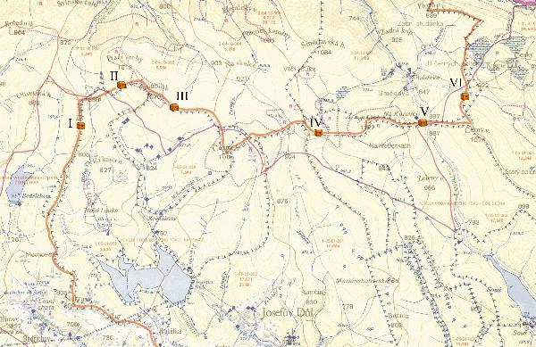 Zakladni vodohospodarska mapa 1:50 000