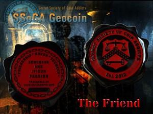 SSoCA Geocoin - The Friend