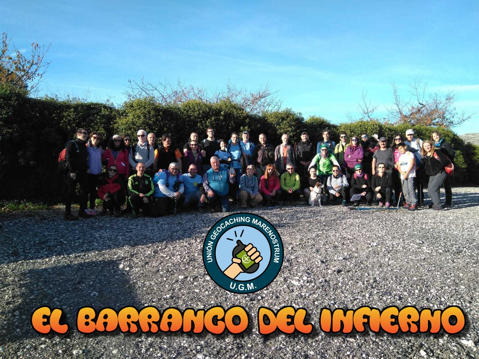 GC81EW0 U G M en el Barranco del Infierno (Traditional Cache