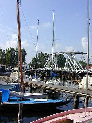Klappbrücke Greifswald/Wieck