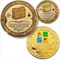 04000 Finds Geo-Achievement Geocoin