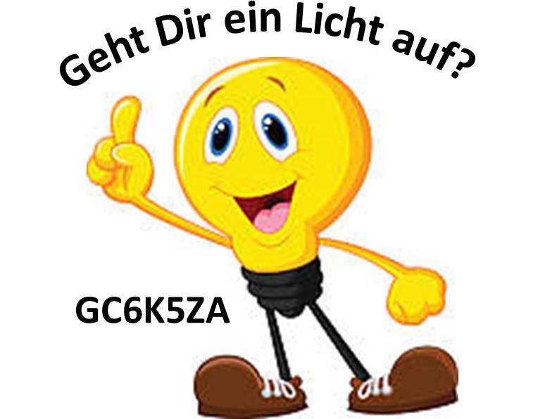 GC6K5ZA - Geht Dir ein Licht auf?