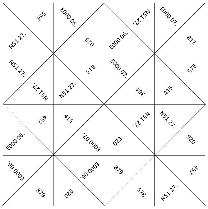 Tutorial: Origami Fortune Teller | Fortune teller paper, Origami ... | 672x669