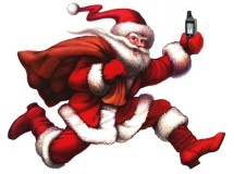 Der Weihnachtsmann sucht auch schon den cache