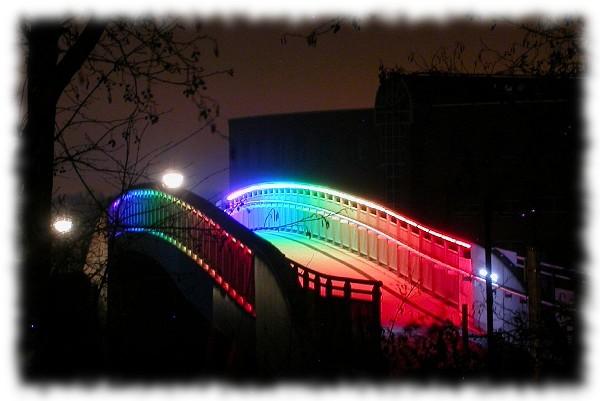 Regenbogenbrücke Dortmund