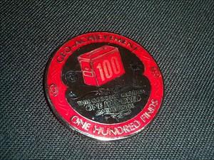 Geo-Achievement vt601 Finds 100 Geocoin (front)