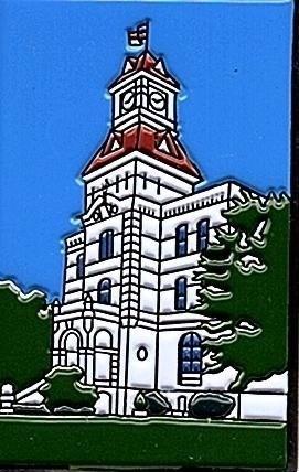 TB8CTA7) Benton County Courthouse Geocoin - BUBBLEGUMMERS